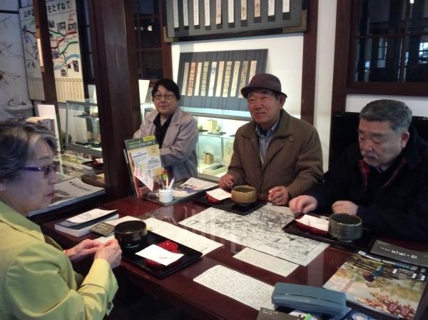 「大下雪香展」お抹茶の呈茶_f0289632_11501193.jpg