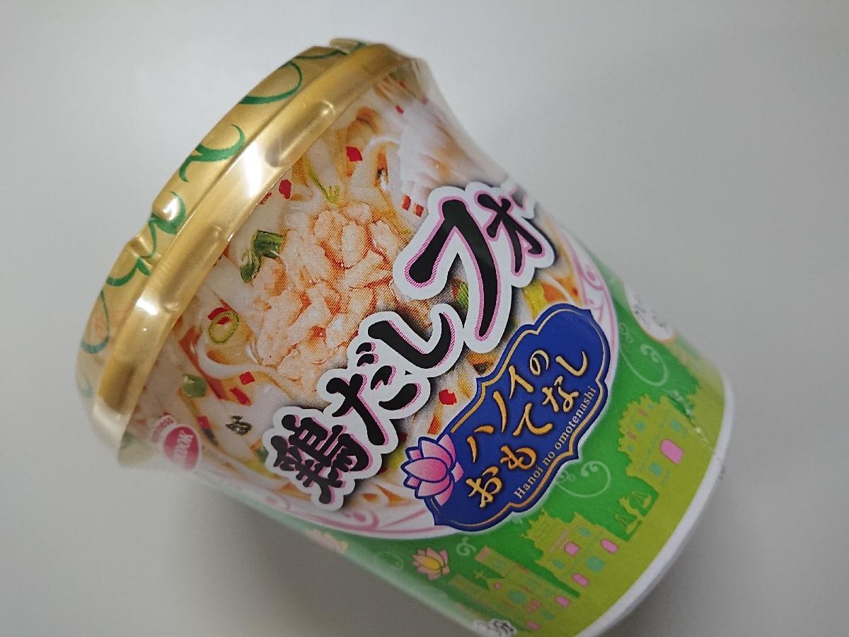 4/13  エースコック 鶏だしフォー & ファミマ シーチキン&コーンサラダ_b0042308_01325534.jpg