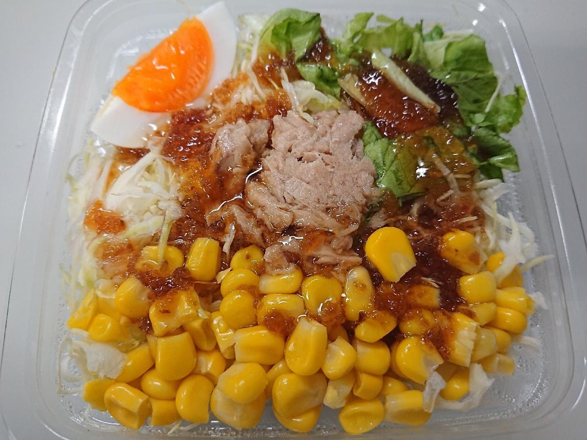 4/13  エースコック 鶏だしフォー & ファミマ シーチキン&コーンサラダ_b0042308_01325627.jpg