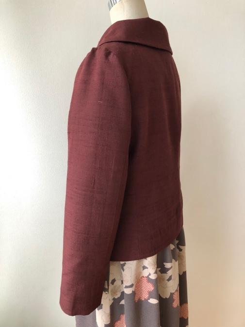 着物リメイク・紬の着物からジャケット_d0127925_18482587.jpg