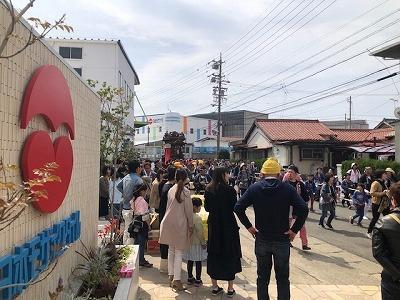 2019 常滑山車祭り 常石 日本モザイクタイル振舞い_f0059665_19200398.jpg