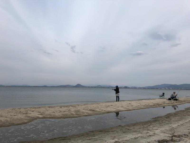 4月13日 琵琶湖畔でのんびり過ごす_a0023466_08484450.jpg