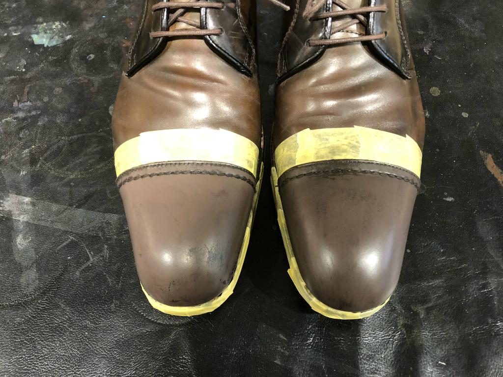 ブログ『ガラス加工の靴の補修~さすがだ!!』_b0365069_17582249.jpg