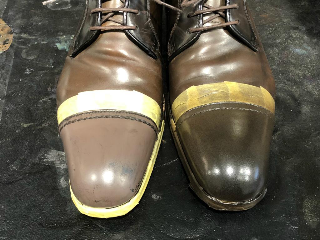 ブログ『ガラス加工の靴の補修~さすがだ!!』_b0365069_18001556.jpg