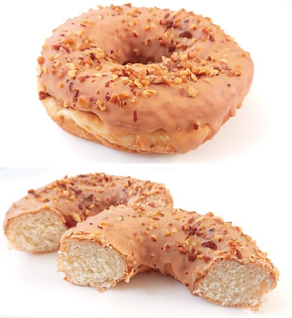 【袋ドーナツ】山崎製パン「もち食感ドーナツ アーモンド」【もっちもちで最高!】_d0272182_17314518.jpg
