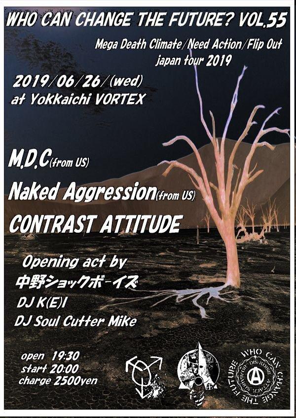 MDC / NAKED AGGRESSION JapanTour 2019_c0234515_15053935.jpg