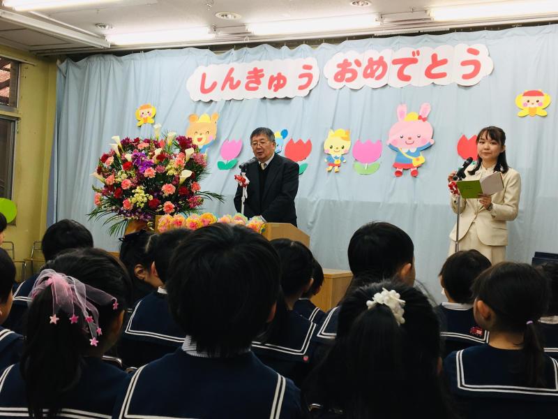 大和田幼稚園の入園式_e0412431_17533917.jpg
