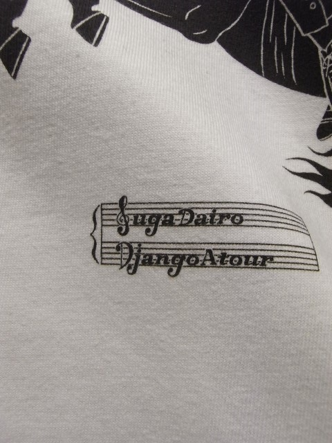 4月の製作 / SugaDairo x DjangoAtour Print Tee_e0130546_15413809.jpg