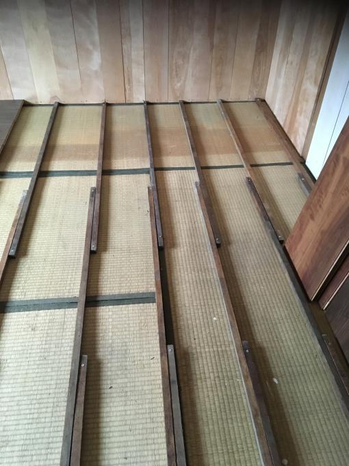 娘の部屋その8。畳の部屋の床貼りです。_f0182246_13271155.jpg