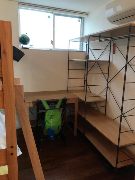【子供部屋】選んだのはまたもや無印ユニットシェルフ_a0129661_09250172.jpg