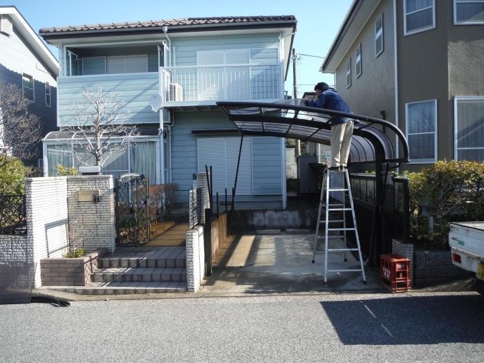 入居前リフォーム ~ 駐車場工事_d0165368_07472264.jpg