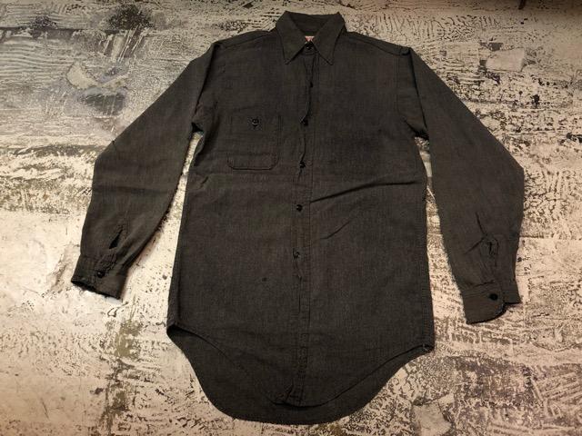 Chambray Shirt at U.S.Navy&Wrok!!(マグネッツ大阪アメ村店)_c0078587_14405466.jpg