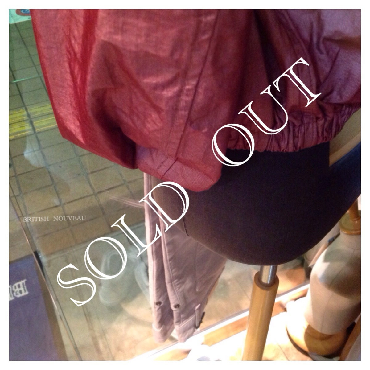 SOLD  OUT  してました m(_ _)m_f0039487_11090715.jpg