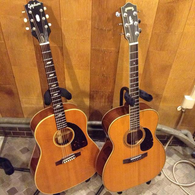 良いギターに囲まれる幸せ、だけど身体はひとつ指は10本ですから。_a0334793_11503855.jpg