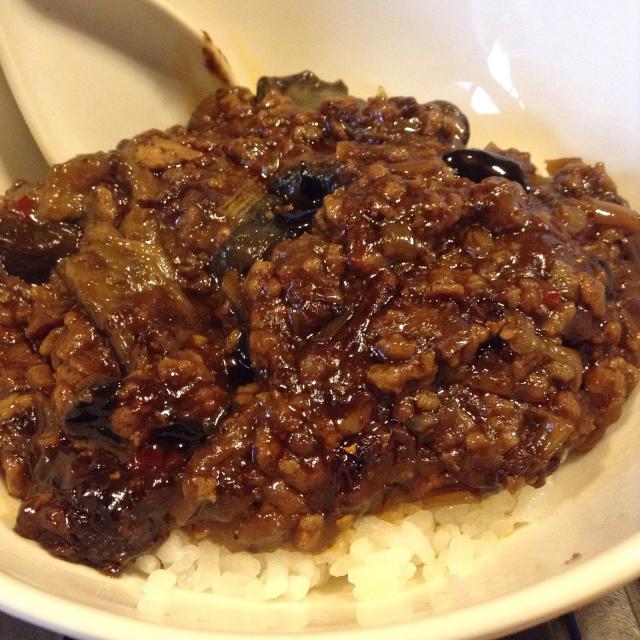 朝ごはんは肉味噌化した麻婆茄子、さてライブの準備を。_a0334793_12454174.jpg