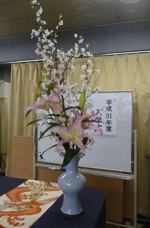 2019年度マスターコース 日本画/油絵科・創作人形科 入学式_b0107314_15012715.jpg