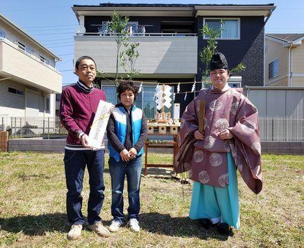 龍ヶ崎の「OMXの家」地鎮祭_a0059217_11413993.jpg