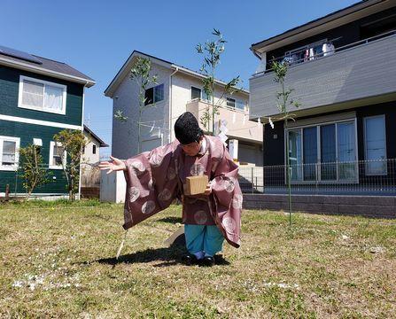 龍ヶ崎の「OMXの家」地鎮祭_a0059217_11414286.jpg