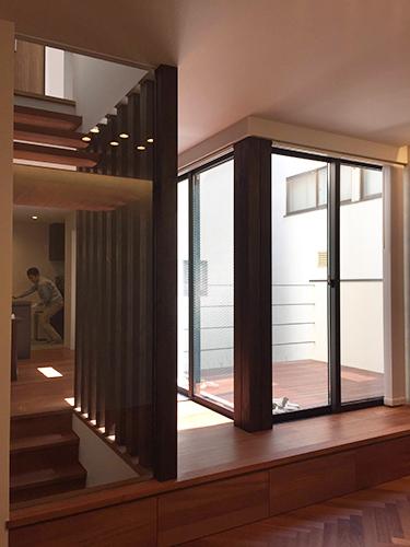 「ビルトインガレージのあるコートハウス」完成見学会を行いました_f0170331_12512179.jpg