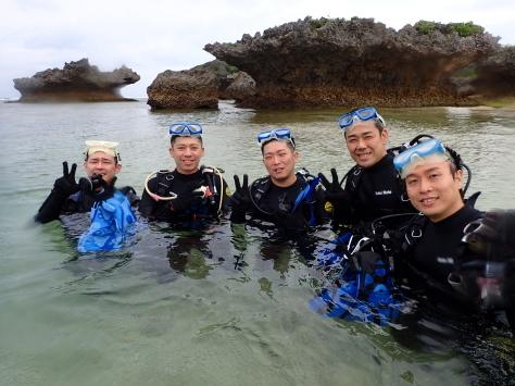 4月15日裏真栄田で体験ダイビング_c0070933_20064477.jpg