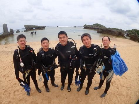 4月15日裏真栄田で体験ダイビング_c0070933_20073967.jpg