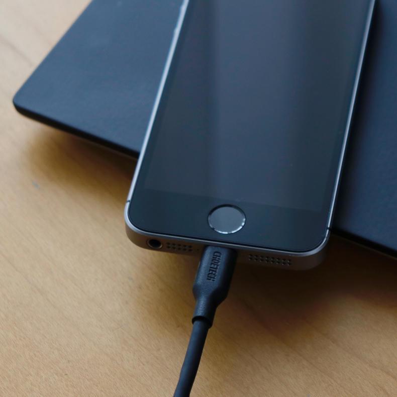 【AD】2メートルで長さ十分。USB TYPE-C to Lightningケーブル_c0060143_14313810.jpg
