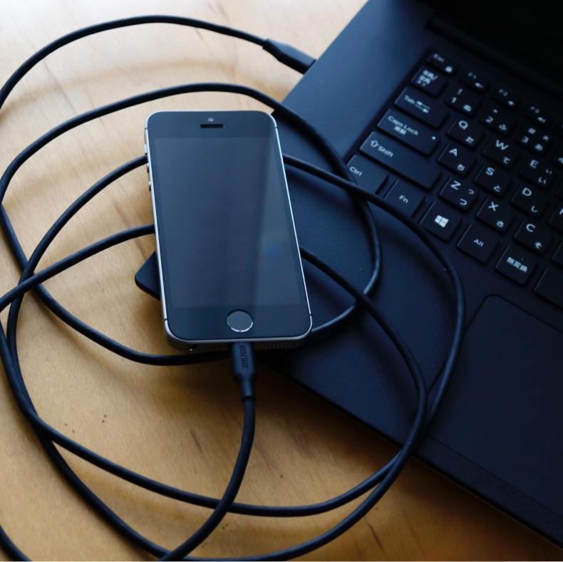 【AD】2メートルで長さ十分。USB TYPE-C to Lightningケーブル_c0060143_14314530.jpg