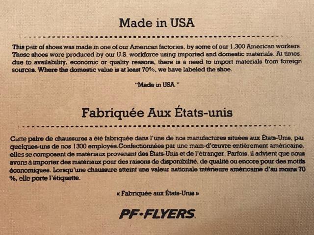 """4月20日(土)マグネッツ大阪店、服飾雑貨入荷!!#1 NOS \""""PF Flyers\""""CanvasSneaker Made In USA!!_c0078587_291735.jpg"""
