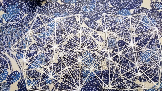 綿棒で立体図形を作ってみた_e0167593_01181744.jpg