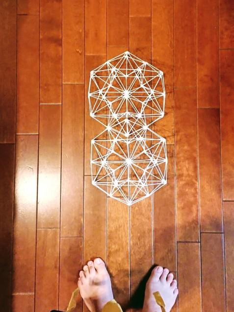 綿棒で立体図形を作ってみた_e0167593_01185367.jpg