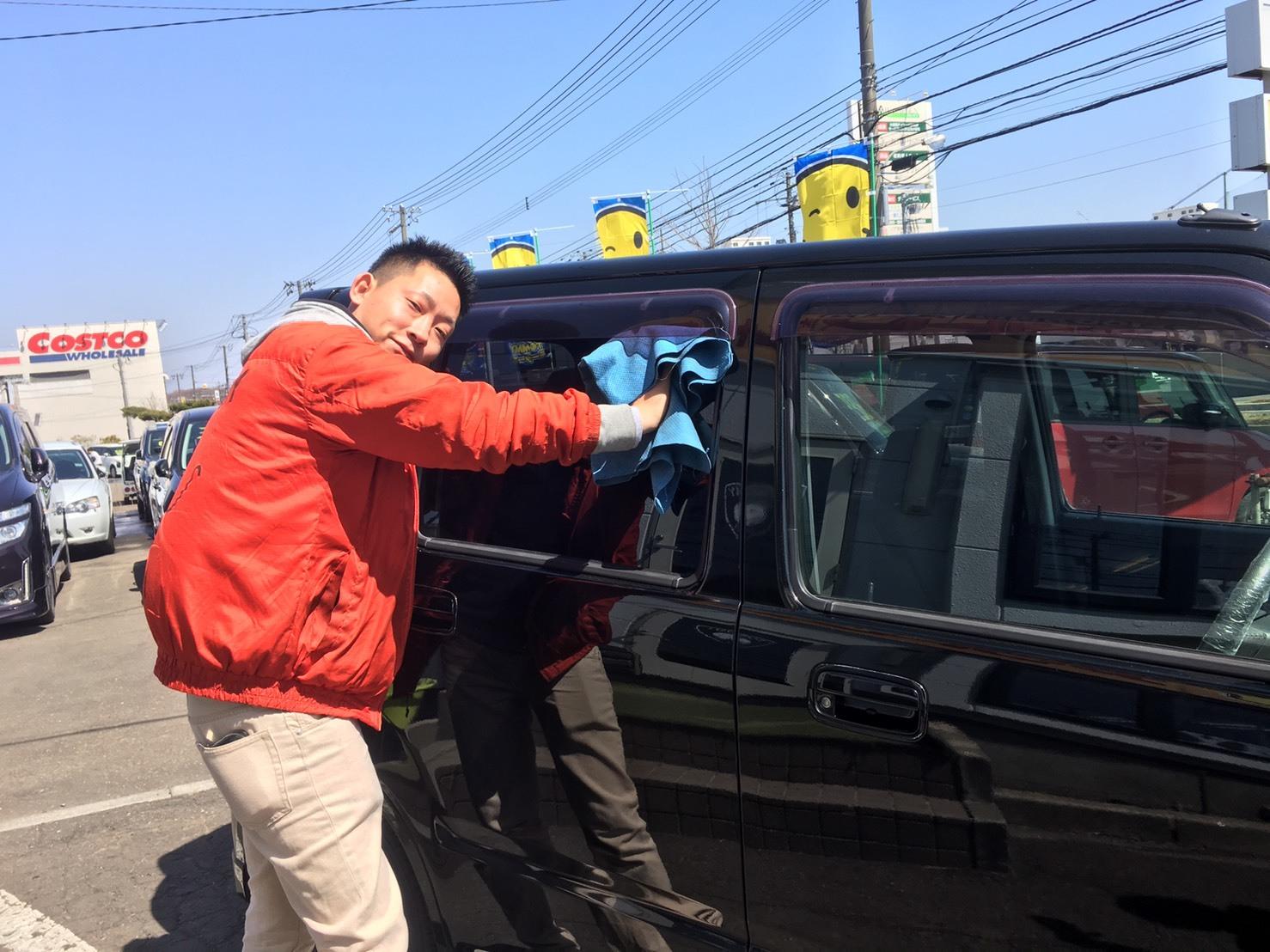 4月17日(水)☆TOMMYアウトレット☆あやあゆブログ(∩ˊ꒳ˋ∩)・* ワゴンR A様納車♪たくさんのご来店ありがとうございます♡_b0127002_17111132.jpg