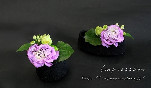先週の定期装花から セレブグレープ_a0085317_15393635.jpg