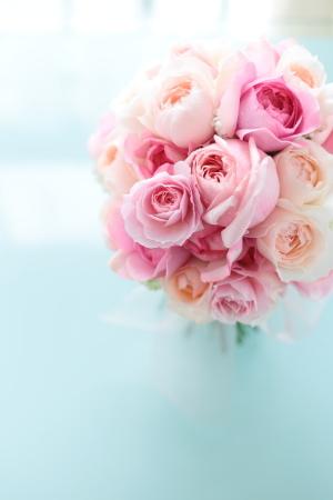 クラッチブーケ 軽井沢高原教会様へ ピンクのバラとライラックで_a0042928_13454913.jpg