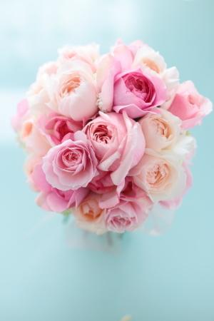 クラッチブーケ 軽井沢高原教会様へ ピンクのバラとライラックで_a0042928_13454991.jpg