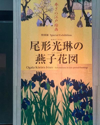 今日の燕子花 ー 根津美術館_e0243332_14364176.jpg