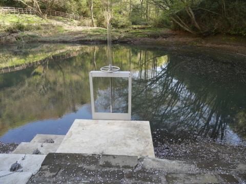 台峯の谷戸の池の浚渫完了、公園オープンは2021年3月末_c0014967_06593855.jpg