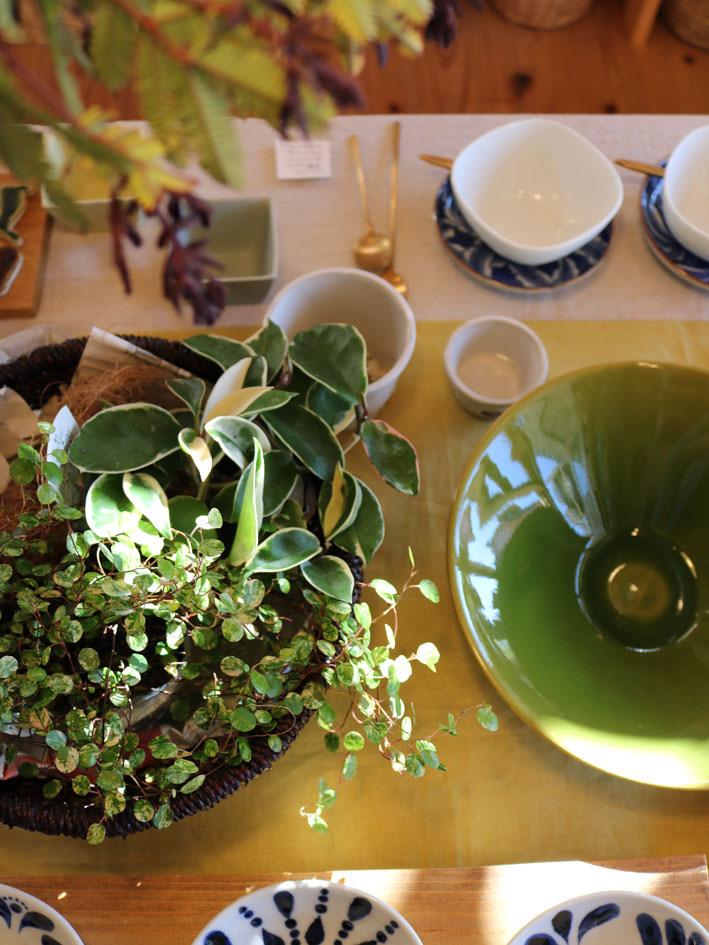 赤葉アカシアのあるテーブル 〜四月半ばの店内〜_c0334574_20332674.jpg