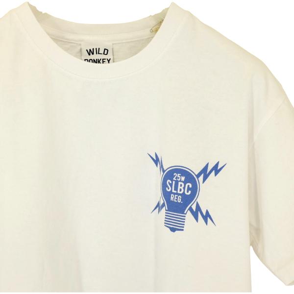 "WILD DONKY ワイルド・ドンキー  プリントTシャツ""SUN LIGHT BULB""_c0118375_15234434.jpeg"