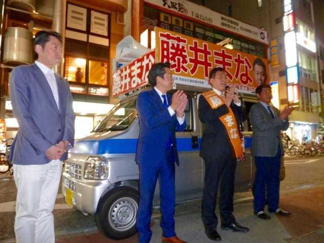 世田谷区議会議員選挙 始まる_c0092197_09380376.jpg