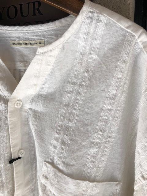 GRANDMA MAMA DAUGHTER Checktuck Wide Pants& Skipper Shortshirt_a0222424_16292062.jpg