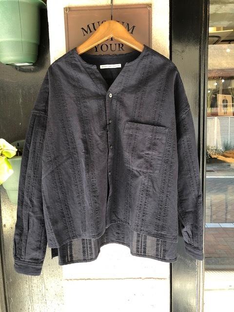GRANDMA MAMA DAUGHTER Checktuck Wide Pants& Skipper Shortshirt_a0222424_16292767.jpg