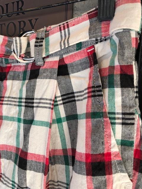 GRANDMA MAMA DAUGHTER Checktuck Wide Pants& Skipper Shortshirt_a0222424_16325321.jpg
