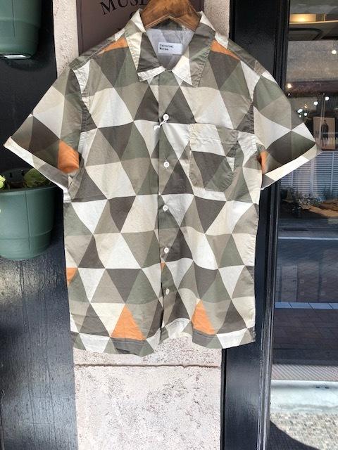 Universal Works  GeometallicPattern shirt  , Madrascheck Patchwork Road Shirt_a0222424_20412876.jpg