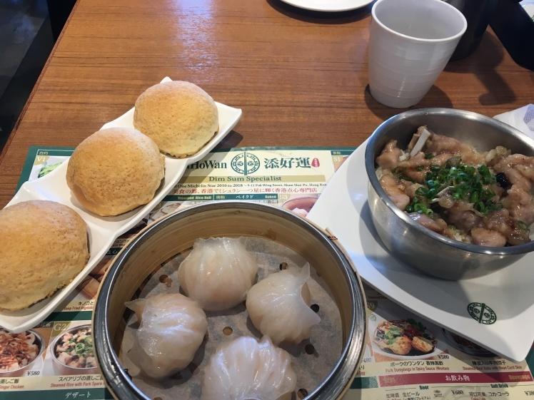 日比谷のティム・ホー・ワンで飲茶食べてきました_f0318142_11434961.jpg