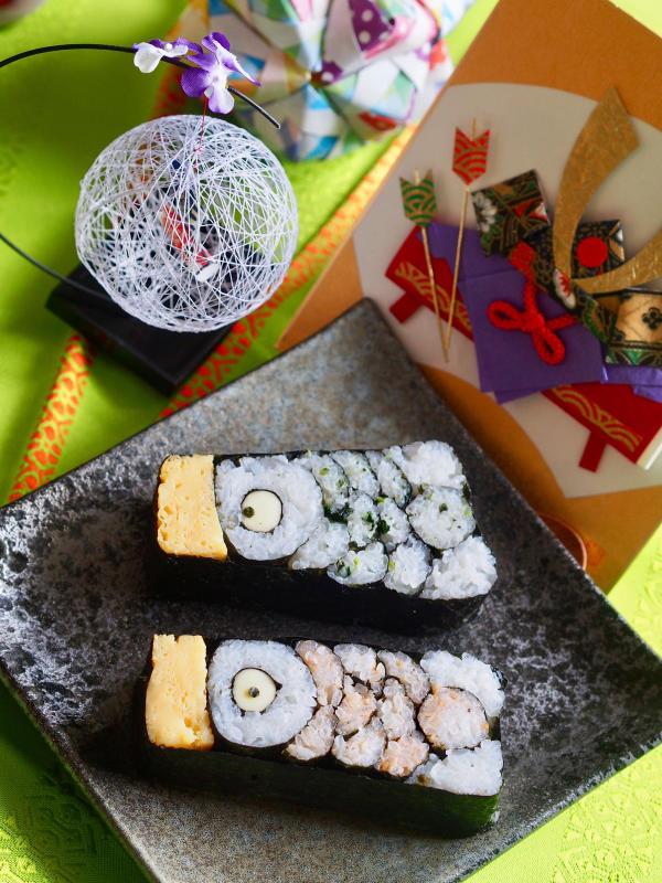 行楽弁当にぴったり♡可愛い飾り巻き寿司_e0362276_16183326.jpg