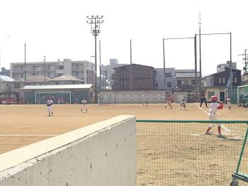 チビ輔 4年生最後 野球練習試合~☆_e0123286_14572440.png