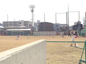 チビ輔 4年生最後 野球練習試合~☆_e0123286_15011597.png