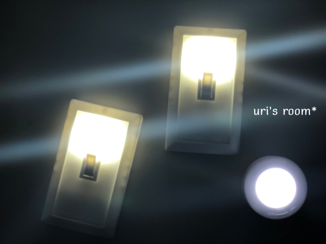 薄暗いクローゼット…100均アイテムを使って快適にヽ(´▽`)/_a0341288_21482200.jpg