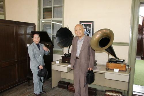 Antiques 文明機器コレクター菅原和雄様ご一行様が来館_c0075701_13332800.jpg