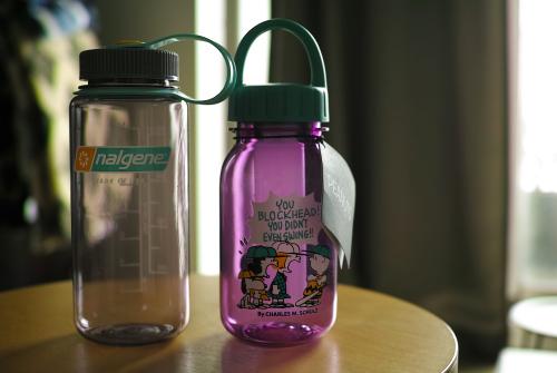 新色 nalgene ナルゲンボトル 0.5L &スヌーピーのボトル0.4Lを買う。_c0334705_06250214.jpg